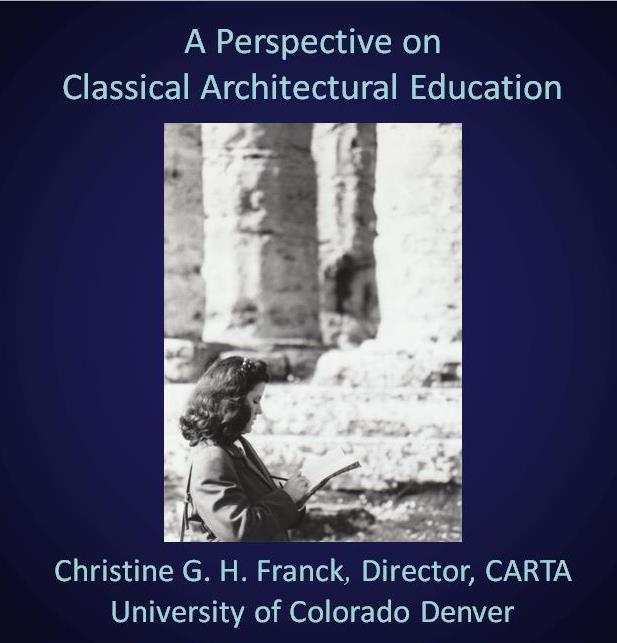 classicalarchitecturaleducation